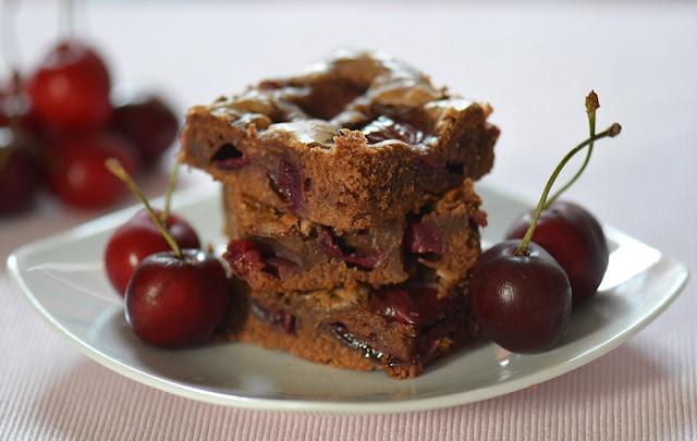 Brownie alle ciliegie