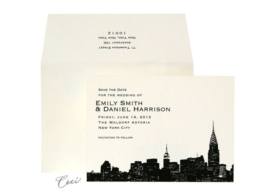 24 Best New York Invitations Images On Pinterest Luxury Wedding