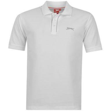 Slazenger Plain Polo Shirt Mens  475