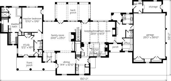 floor plan for my house emerson hill idea house ben patterson aia southern living house plans southern living 7010