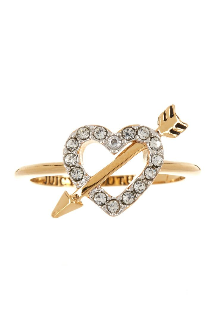Juicy Couture Heart & Arrow Ring