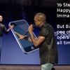 Kanye West VMA Taylor Swift Parody Pics. If you saw the VMA awards you saw Kanye West steal the spotlight from Taylor Swift. Enjoy this collection of parodies of Kanye interrupting other popular figure to steal the mic. Download the Kanye template here to make your own.