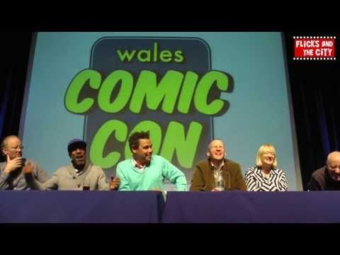 Red Dwarf Cast Panel 2013 at Wales Comic Con