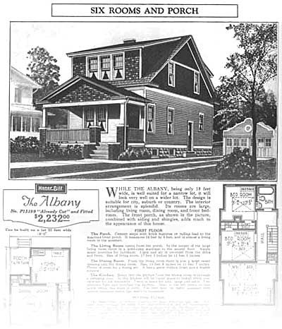 Sears roebuck catalog houses craftsman sears roebuck for Craftsman kit homes