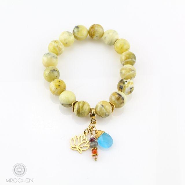 Opal żółty - Słoneczna radość