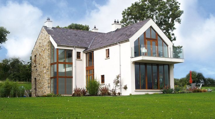 Structural Steel designed bespoke to order. View our signature Glazed Gable Apex with Cantilevered Balcony here.