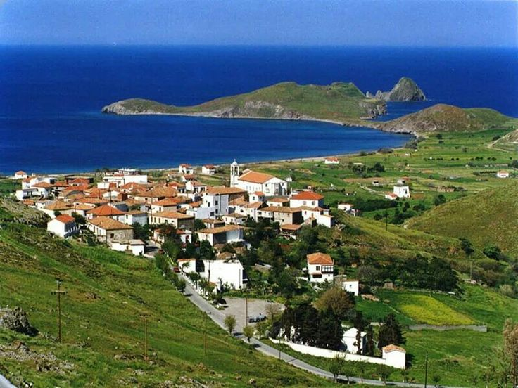 Plati village. Limnos, Greece