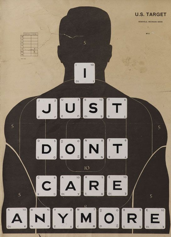 'I JUST DON'T CARE ANYMORE' by William Blanchard aka 'Wildcat Will' by NEU GALLERY LONDON