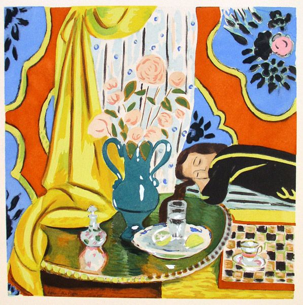 "Henri Matisse - ""Harmonie jaune"" (1927) - Les Collectionneurs Associés #AsArtColl #AssociatedArtCollectors"