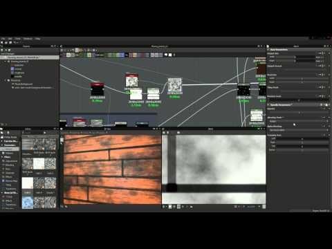 Let's Make - Substance Designer 5 - Wood Flooring - YouTube