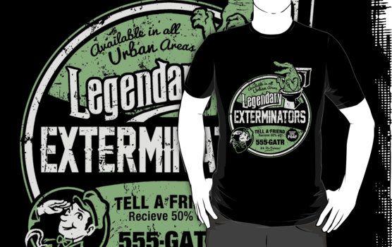 Legendary Exterminators by HeartattackJack
