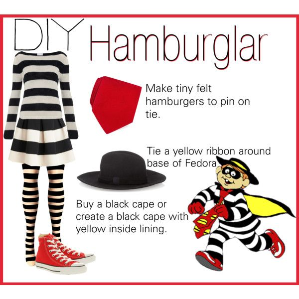 Here's my DIY Halloween costume. The Hamburglar  #Halloween #DIYHalloween #Contest