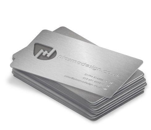 laser cut business cards.