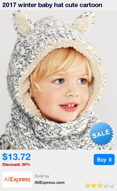 2017 winter baby hat cute cartoon rabbit ear woolen crochet hat kids winter hats girls warm fleece hedging cap baby boy hat * Pub Date: 21:15 Jun 29 2017