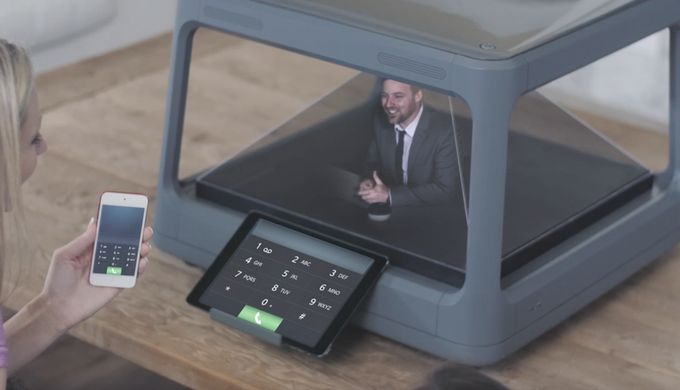Imagine replacing your computer monitor with a holographic display. That's exactly what the Holus Kickstarter campaign is asking you to imagine. Prices start around $700.
