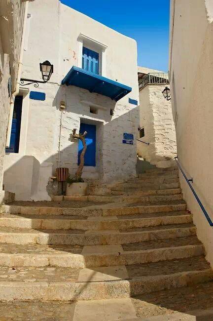 Steps... Syros island