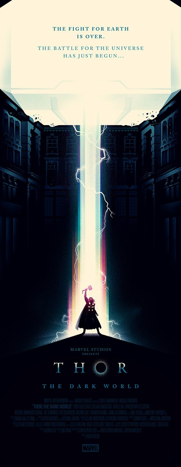 Remake: Movie Posters - Thor poster by Olly Moss