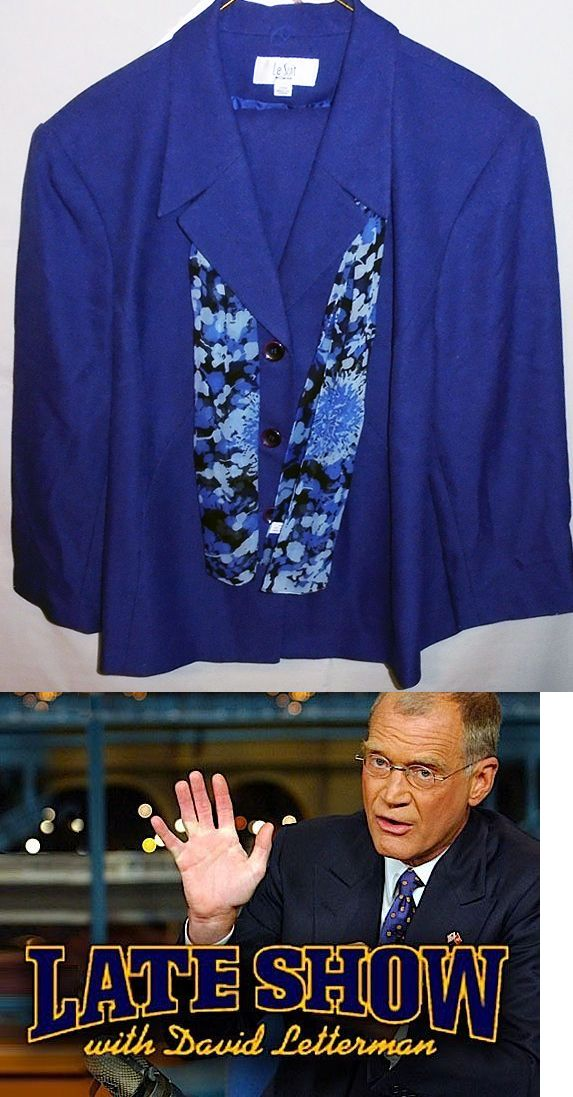 Hillary Clinton: Rare -Hillary Clinton- Late Show With David Letterman Screen Worn Prop Costume BUY IT NOW ONLY: $19.99