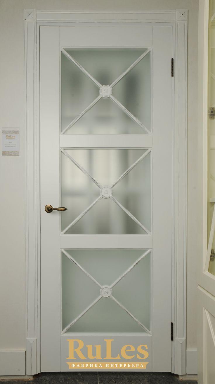 """Межкомнатная дверь RuLes под названием """"Орлеан"""".  #двери #межкомнатные #рулес #интерьер #дизайн"""