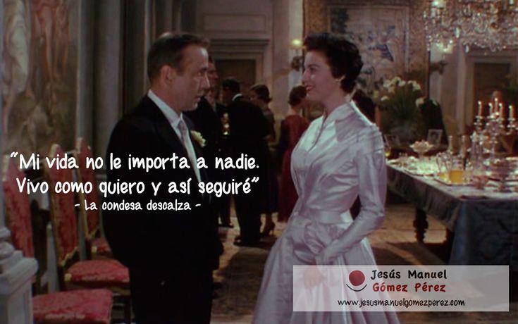"""Aprendiendo de los mejores films: La condesa descalza, 1954 """"Mi vida no le importa a nadie. Vivo como quiero, y así seguiré."""""""