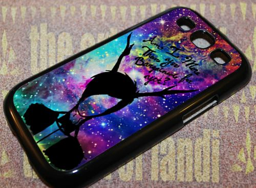 Fall Out Boy Quote Galaxy Nebula For Samsung S3 Black Rubber Case