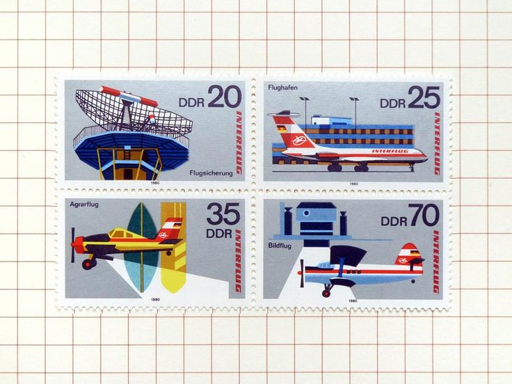 Airline Stamp Block