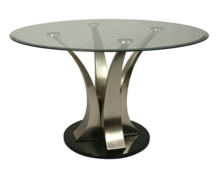 Round Glass Dining Table 48 Inches: ZU5154856 In By Pastel Furniture In Deptford, NJ
