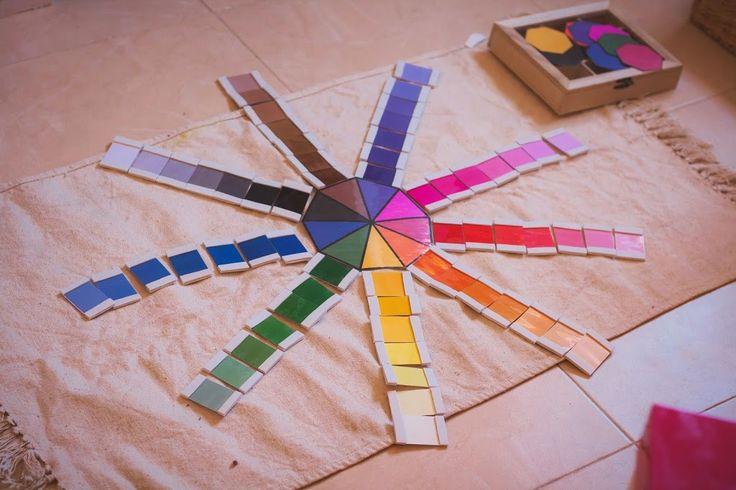 COLORES - 10 materiales Montessori que merece la pena fabricar | Tigriteando