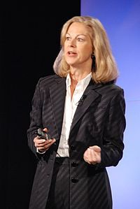 Christie Hefner (November 8, 1952) American magazine publisher and chief executive of Playboy Magazine (she is the daughter of Hugh Heffner).