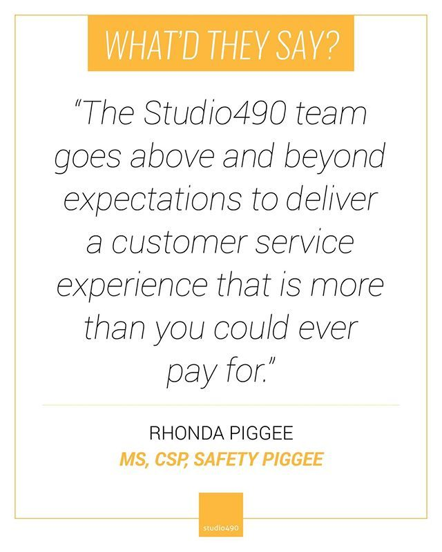 The Studio490 Team Goes Above And Beyond Expectations To Deliver A