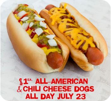 National Hot Dog Day: Cheap Hot Dogs Tomorrow (Sonic Drive-In, 7-Eleven & More) – Hip2Save