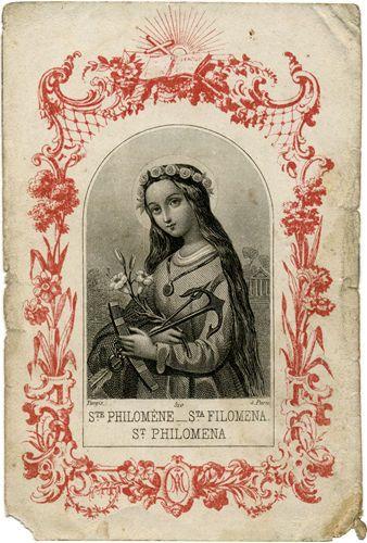 Saint Philomena, pray for us.