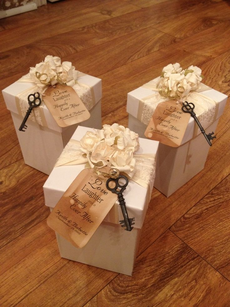 Wedding Favor Boxes #timelesstreasure
