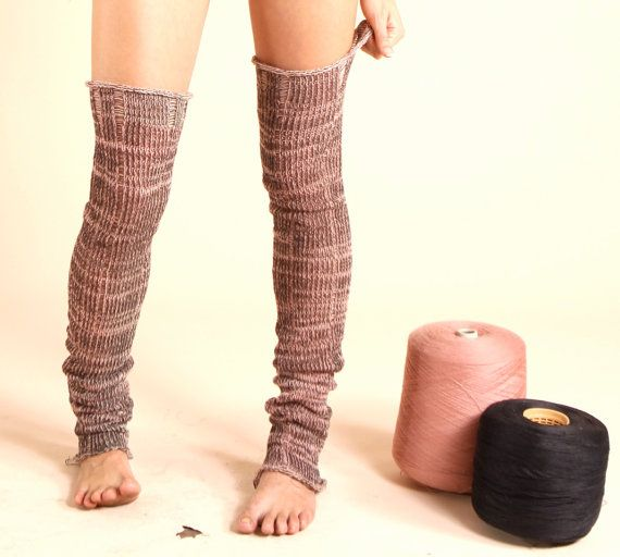 LegWarmers textured with color by artstring on Etsy, $120.00