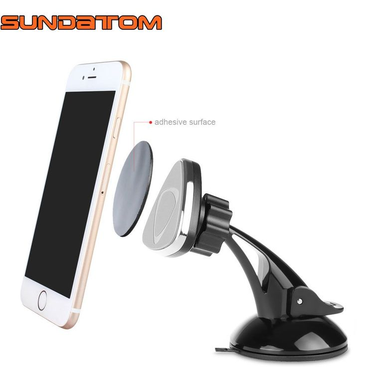 Universal Magnetic Car Dashboard Mobile Mount Car Stand Phone Holder Sticky Car Kit Magnet For iPhone Samsung Smartphone