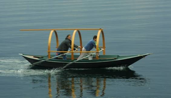 Lucia- typical boat of Lake Como
