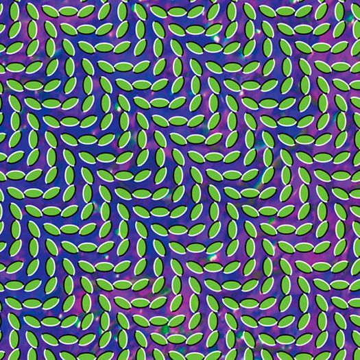 """Animal Collective - Merriweather Post Pavilion"" Trippiest artwork I've ever seen. Trippiest music I've ever heard. Good music, nevertheless. Definitely a summer album."