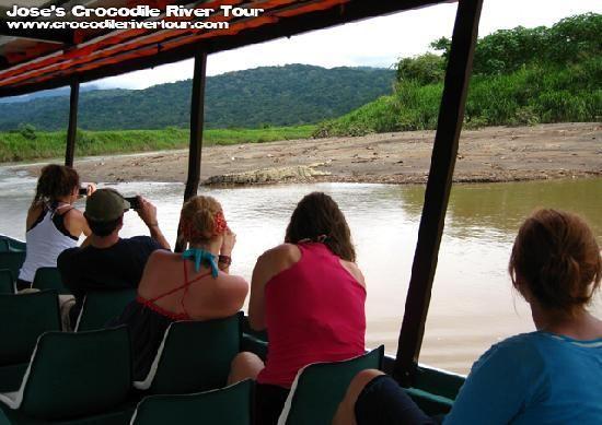 River Boat at www.crocodiletour.com #costarica #travel #adventures #tours #wildlife #tarcoles #jaco #centralamerica #activities #family