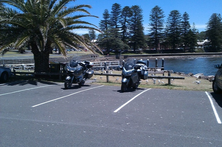 Mitch Nowlen & Wendy had a great time riding around Oz on the BMW R1200RT.  Thanks for visiting.