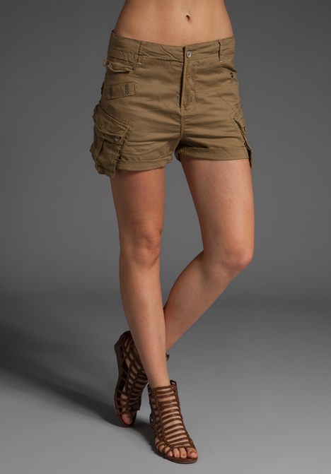 G-Star The Laundry Officer Mini Cargo Short in Nomad