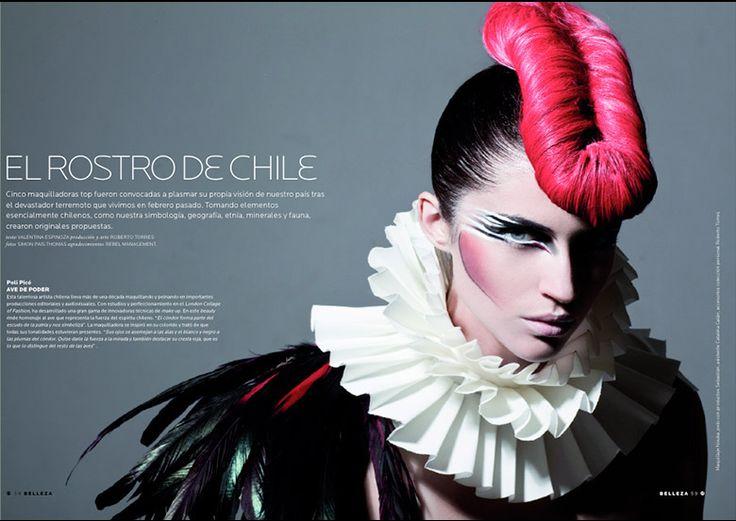 : Poli Pico Makeup Artist - Chile  El arte de los Make Up Artist