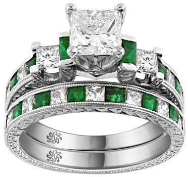 Sweet Engagement Ring #ring