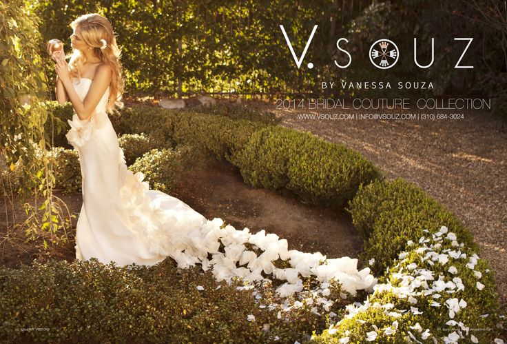 "V. SOUZ ""Elizabeth"" Dress.     Photography by Benjo Arwas"