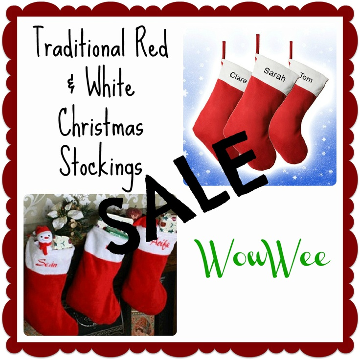 Personalised Christmas Stockings UK. Massive Sale at WowWee.co.uk right now! http://www.wowwee.co.uk/Personalised-Christmas-Stockings-WowWee-co-uk-s/35.htm
