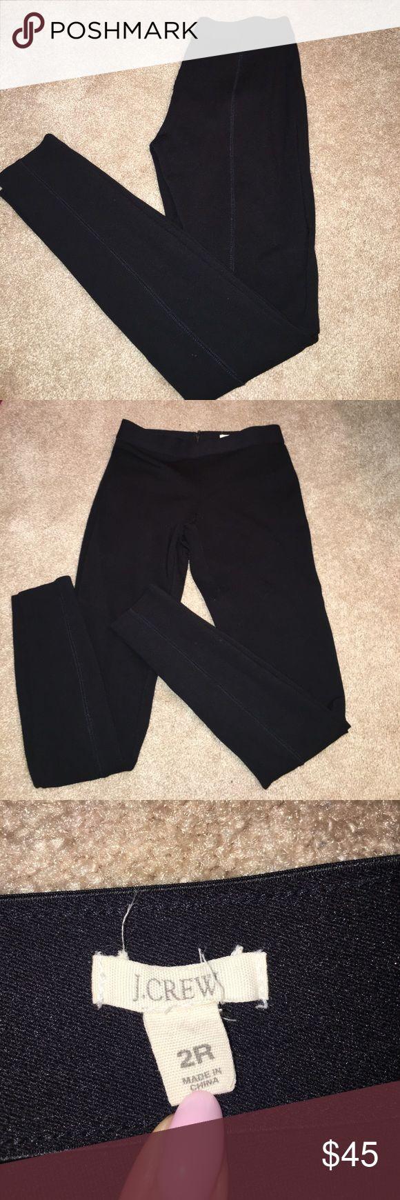 J Crew riding pants J Crew black riding pants/leggings. Excellent condition J. Crew Pants Leggings
