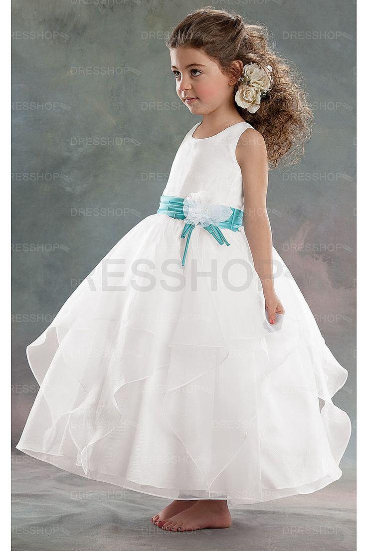 Amazing Ball Gown Scoop Organza Flower Girl Dresses - Flower Girl Dresses - Wedding Party Dresses - Dresshop.com.au