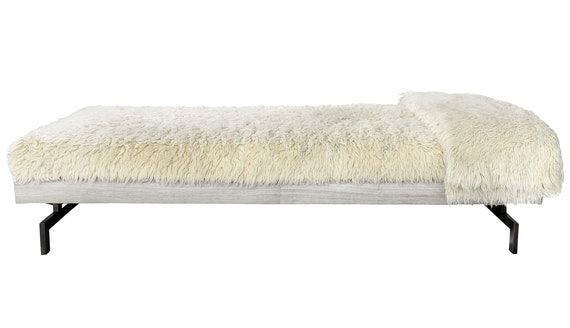 Buy Lake Forest Daybed by Michael Del Piero by River North Design District - Made-to-Order designer Furniture from Dering Hall's collection of Contemporary Industrial Mid-Century / Modern Transitional Daybeds.
