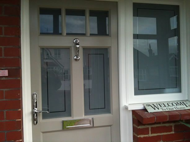Image result for satin glass window outside