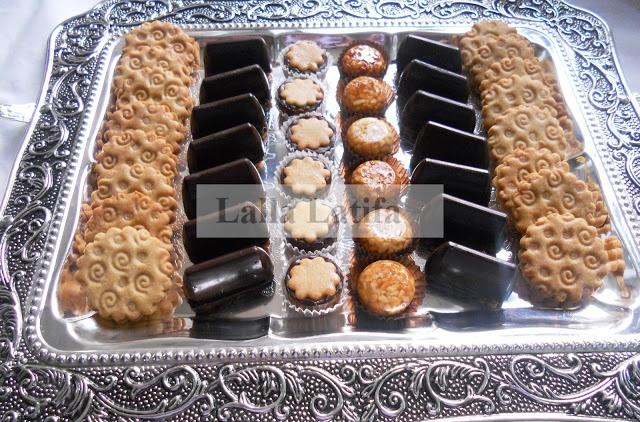 Petits gâteaux au chocolat | Les secrets de cuisine par Lalla Latifa