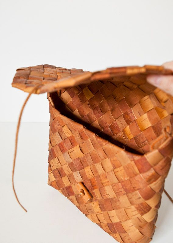 Handmade Birch Bark (Näver) Bag
